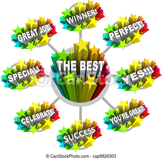 praise and appreciation words for a great job many words stock rh canstockphoto com great job clip art images great job clipart gif