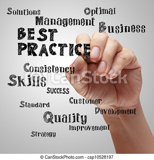 praktijk, tekening, best, hand - csp10528197