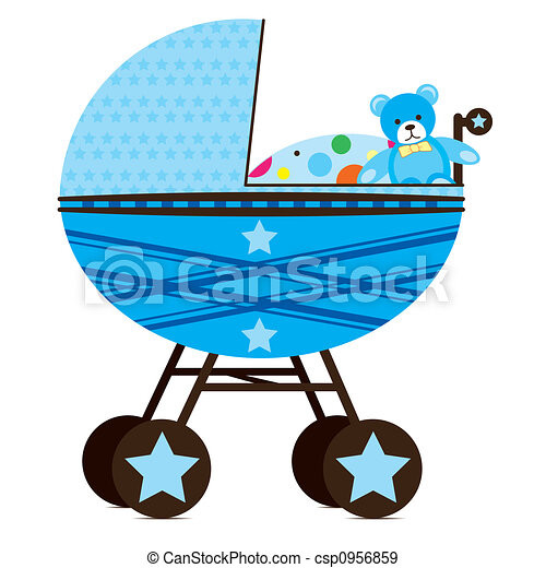 Pram for Baby Boy - csp0956859