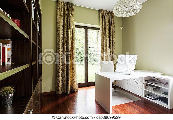 Pratique élégant décor salle bureau décoratif rideaux salle