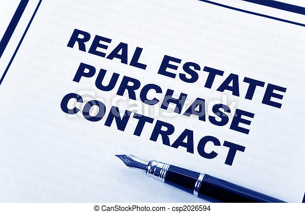 prawdziwy, kupować, stan, kontrakt - csp2026594