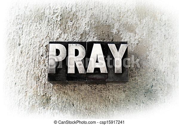 Pray - csp15917241
