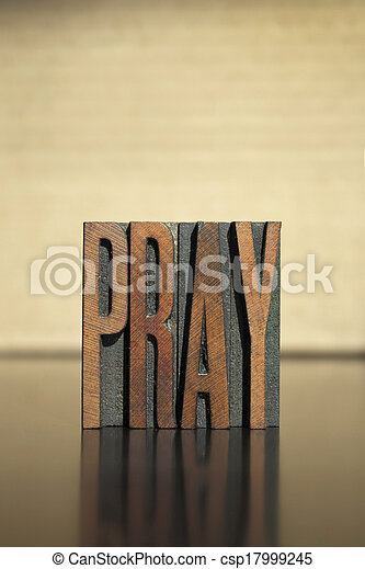 Pray - csp17999245