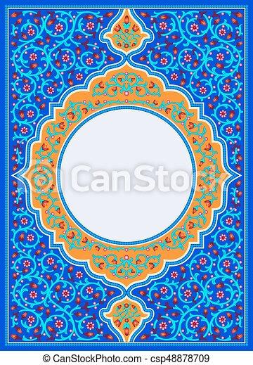 Cover vector book islamic