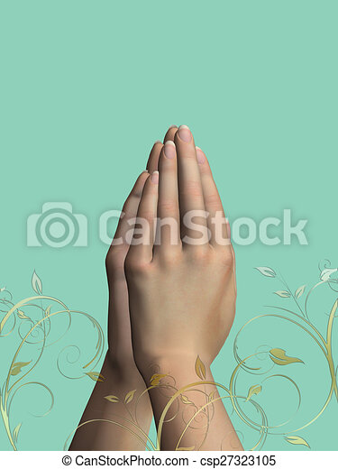 Prayer Hands - csp27323105