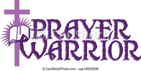 prayer warrior - csp19003638