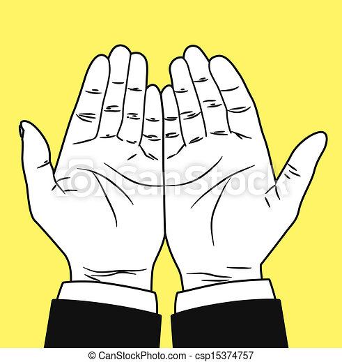 praying hand - csp15374757