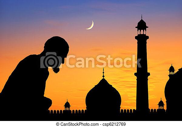 Praying time - csp6212769