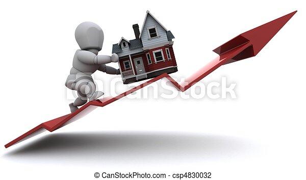 preços, propriedade, levantar - csp4830032