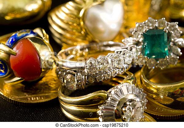 Precious jewels - csp19875210