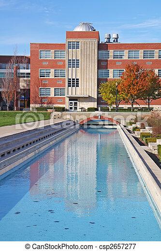 predios, campus universidade, vertical - csp2657277