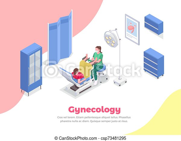 Pregnancy Isometric Composition - csp73481295