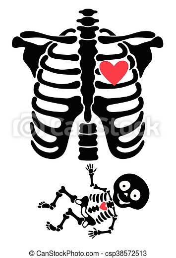 pregnant funny skeletons mom and baby vector clip art search rh canstockphoto ie mom and baby whale clipart mom and baby clipart free