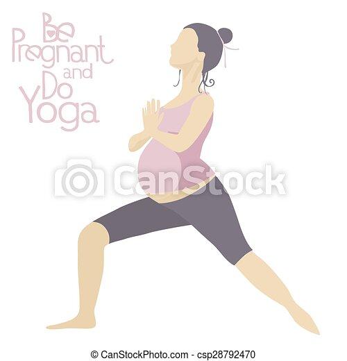pregnant woman doing yoga asanas yoga for pregnant women