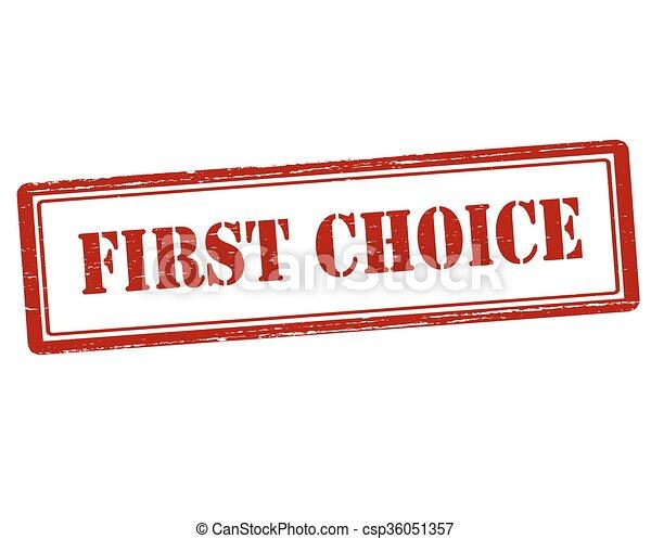 premier, choix - csp36051357