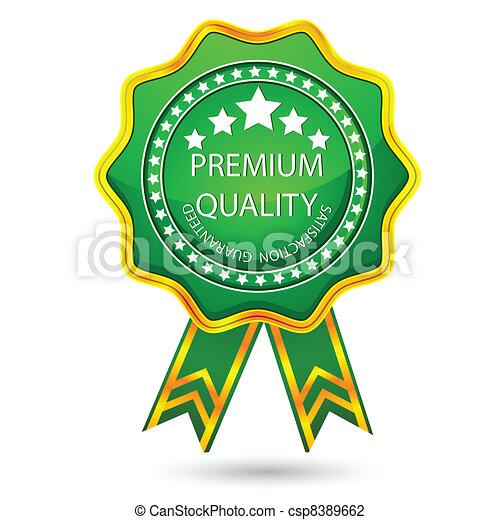 premio, distintivo, qualità - csp8389662