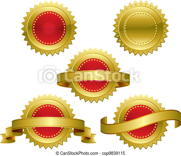 premio, medaglie - csp9839115