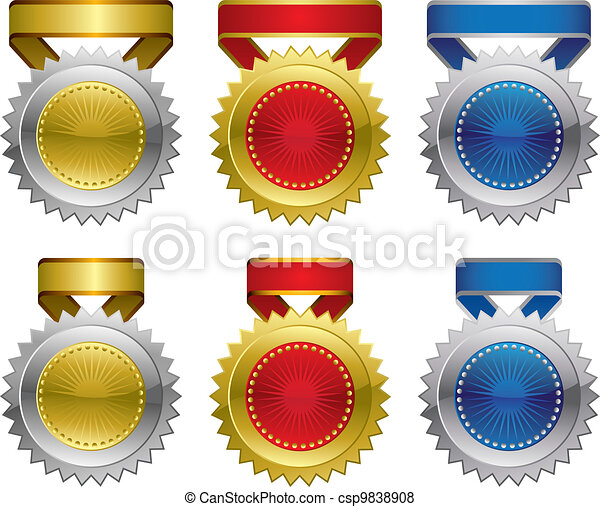 premio, medaglie - csp9838908