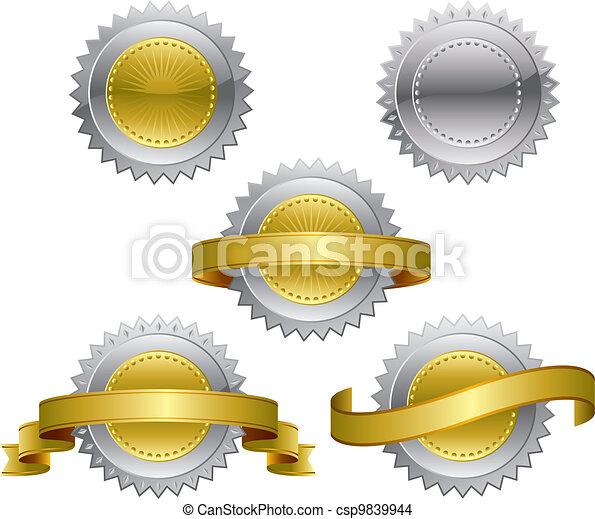 premio, medaglie - csp9839944