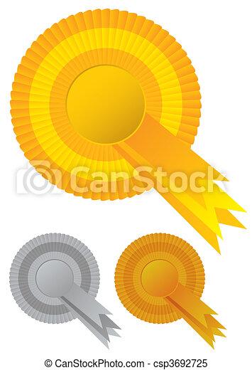 Recaudación de premios Rosette - csp3692725