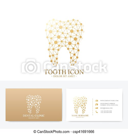 Premium business card print template visiting dental clinic card premium business card print template visiting dental clinic card with tooth logo dentist office reheart Image collections