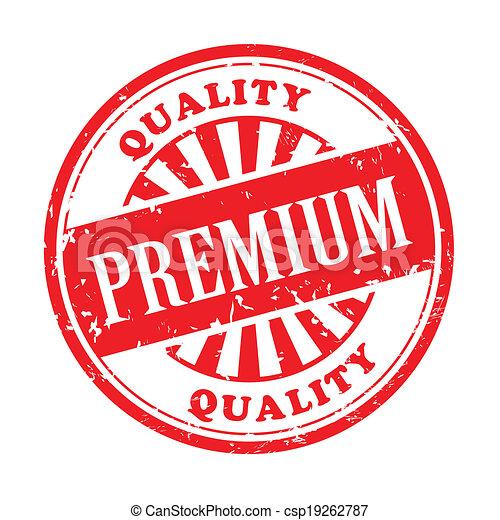 premium grunge rubber stamp - csp19262787