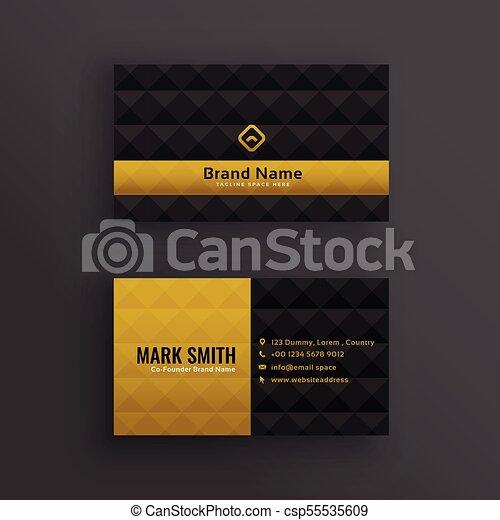 Premium luxury business card design with diamond pattern premium luxury business card design with diamond pattern csp55535609 colourmoves