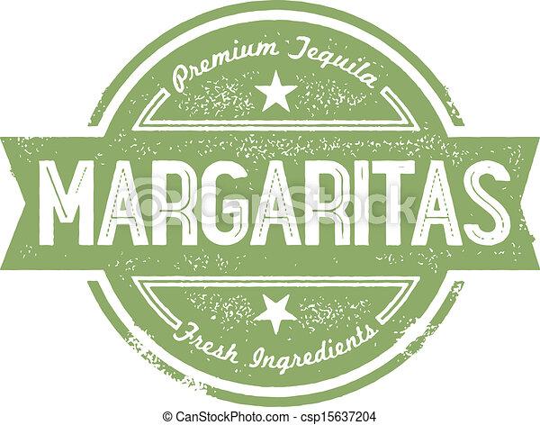 Premium Margarita Cocktail Stamp - csp15637204