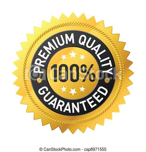 Premium quality label - csp8971555