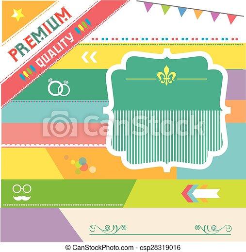 premium vintage badges and labels  - csp28319016