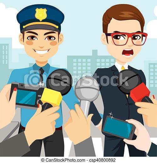 Arresto policial - csp40800892