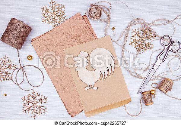 Preparation for christmas holidays - csp42265727