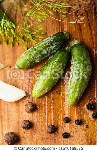 Preparation of small cucumber - csp10169575