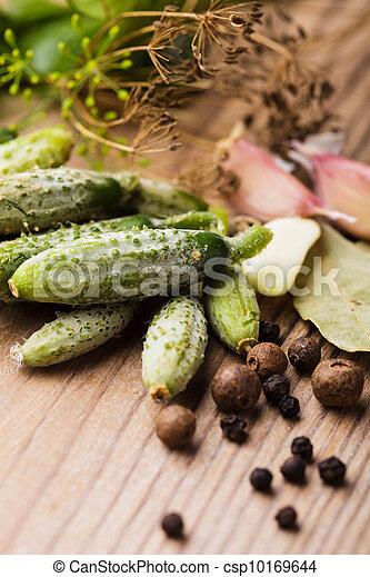 Preparation of small cucumber - csp10169644