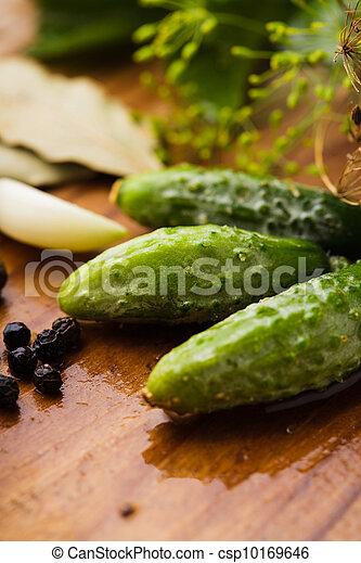 Preparation of small cucumber - csp10169646