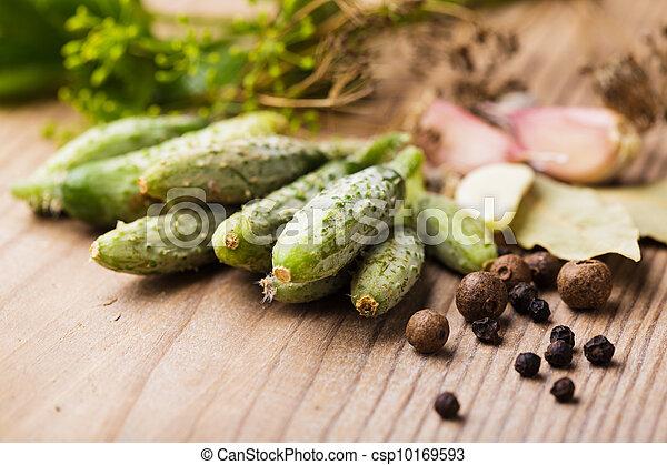 Preparation of small cucumber - csp10169593
