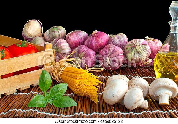 Preparation of spaghetti pasta with - csp9825122