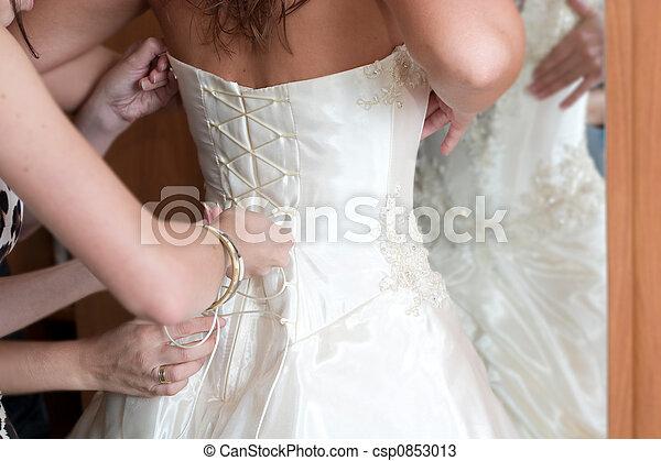 preparation to wedding - csp0853013