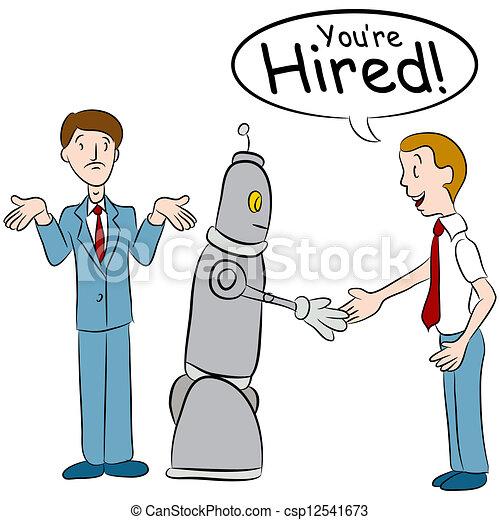 presa, lavori, robot - csp12541673