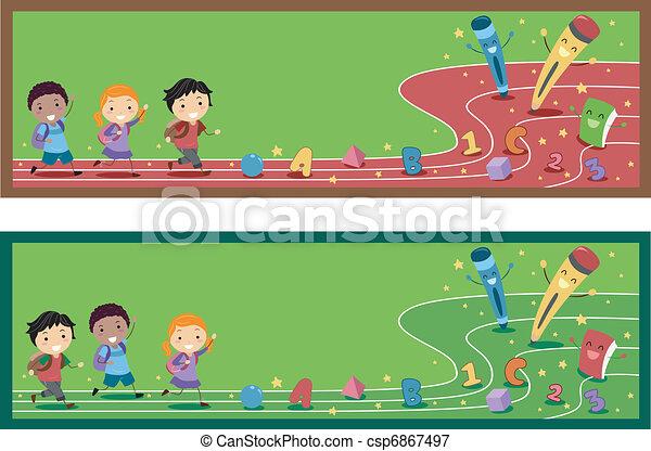 Preschool Banner - csp6867497