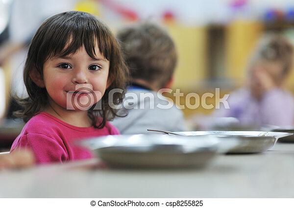 preschool kids - csp8255825
