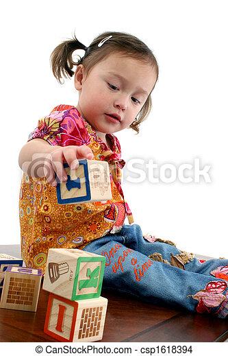 preschooler, américain, japonaise - csp1618394