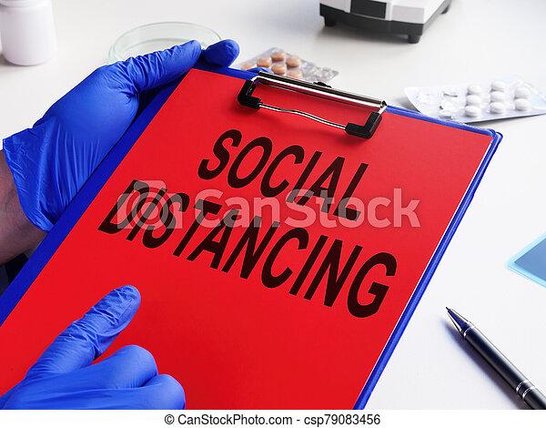prescripción, coronavirus, covid-19., asideros, distancing, doctor, social - csp79083456