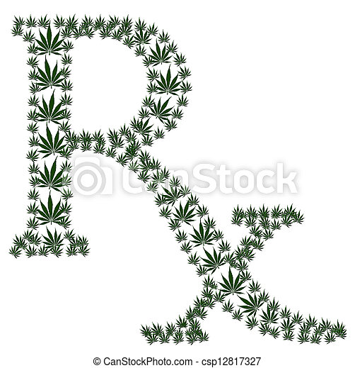 Prescripción de marihuana - csp12817327
