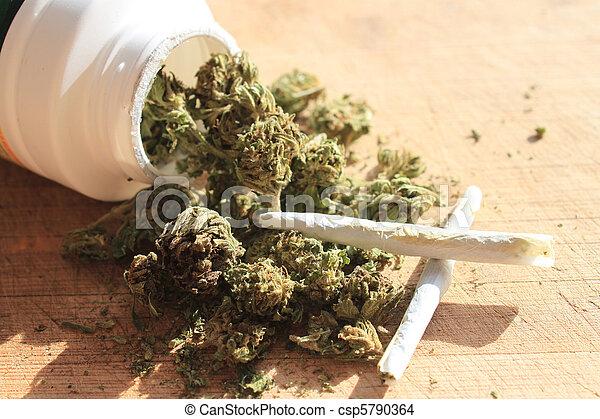 Marihuana recetada - csp5790364