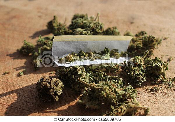prescription, marijuana - csp5809705