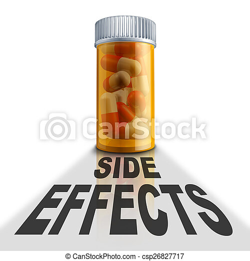 Prescription Medication Side Effects - csp26827717