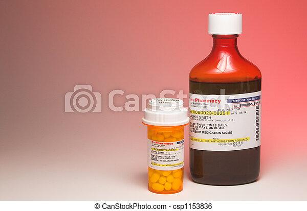 Prescription Medication - csp1153836