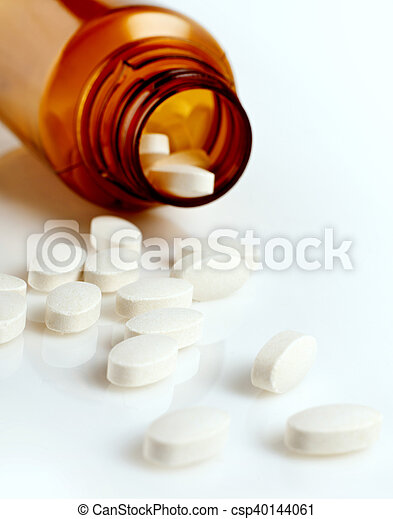 Prescription medication - csp40144061