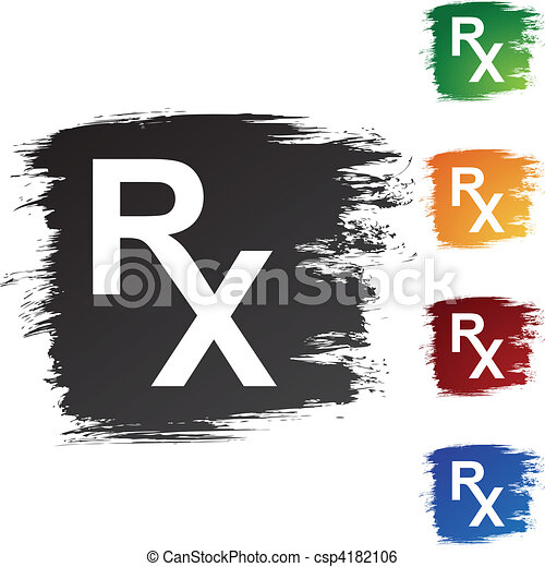 Prescription Symbol Clip Art Vector Search Drawings And Graphics